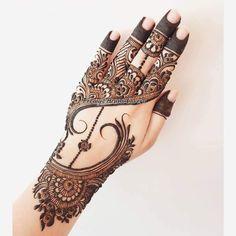 Khafif Mehndi Design, Simple Arabic Mehndi Designs, Stylish Mehndi Designs, Mehndi Designs For Girls, Henna Art Designs, Mehndi Design Photos, Wedding Mehndi Designs, Mehndi Designs For Fingers, Beautiful Mehndi Design