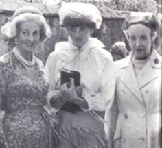 Lady Diana Spencer with her mother & Grandmother