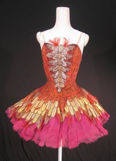 Tutu for The Firebird, 1954 - worn by Margot Fonteyn