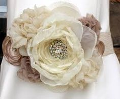 Image result for making fabric flowers Wedding Belts fe1b9d220ce5