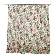 Isabella Cotton Ruffled Shower Curtain