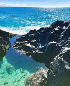 Noosa, QLD ~ Summer dreaming... Noosa Fairy Pools via @marissa.knight79 (IG) www.tinystyle.com.au Noosa Australia, Australia Travel, Best Places To Travel, Places To See, Fairy Pools, Sunshine Coast, Travel Aesthetic, Adventure Is Out There, Strand