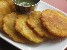 Tostones. Several trips to Costa Rica made my wife and I Tostones addicts!