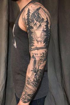 Top 50 Best Shoulder Tattoos For Men Next Luxury. 46 Excellent Shoulder Tattoo Design Ideas For Men You Can Do. 46 Excellent Shoulder Tattoo Design Ideas For Men You Can Do. Forearm Sleeve Tattoos, Full Sleeve Tattoos, Sleeve Tattoos For Women, Tattoo Sleeve Designs, Arm Tattoos For Guys, Tattoo Designs Men, Body Art Tattoos, Hand Tattoos, Nature Tattoo Sleeve Women