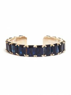 navy gemstones look so sophisticated in this bangle.