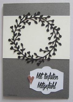 Diamantin´s Hobbywelt: Trauerkarten