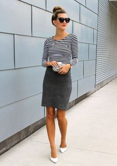 Gorgeous 69 Magnificent Ideas Summer Work Outfits for Women from https://www.fashionetter.com/2017/07/14/69-magnificent-ideas-summer-work-outfits-women/