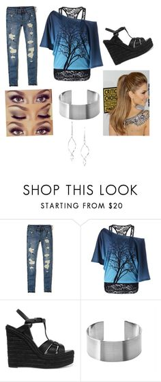 """""""My mom picked this 😂"""" by jrasenti on Polyvore featuring Hollister Co., Yves Saint Laurent, Urban Decay, Maria Dorai Raj and Avon"""