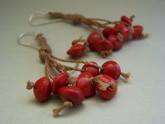 Brazilian seed earrings | Flickr : partage de photos !