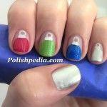 Decorate your nails like a Christmas tree!    Watch My Video Tutorial @ http://polishpedia.com/christmas-ornaments-nail-art.html