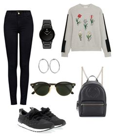 """""""Untitled #131"""" by saxcarolina ❤ liked on Polyvore featuring Steve J & Yoni P, J Brand, LIU•JO, Gucci, Citizen, Maria Black and Ray-Ban"""