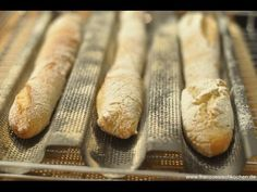 Französisches Baguette Grundrezept | Rezept | Französisch kochen