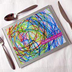 Children's Art Placemats