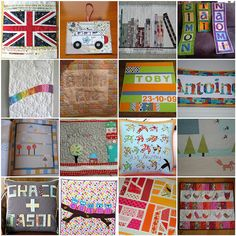 Name Quilt Ideas by Indianna Dreams, via Flickr