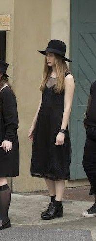 Zoe Benson (Taissa Farmiga) from American Horror Story: Coven. I have to admit I love this look.