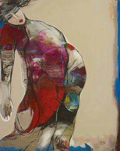 Mona Nahleh 'Dreams Of A Better World' 120x150cm - 2014