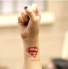 Supergirl Tattoo