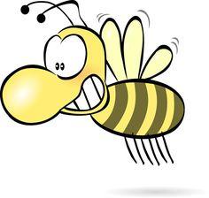 무료 일러스트: 벌-벌꿀-말벌-재미-귀여움-유머 - 온 세상 모든 무료이미지 큐레이션 - 프리큐레이션