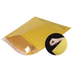Kraft Self-Seal Bubble Mailers w/ Tear Strip from 4mailers.com #packaging #packagingmaterials #moving #shippingmaterials
