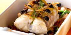 Lotte au four La Lotte, Salty Foods, Tasty, Yummy Food, Good Food, Main Dishes, Fish Dishes, Thermostat 6, Scallops