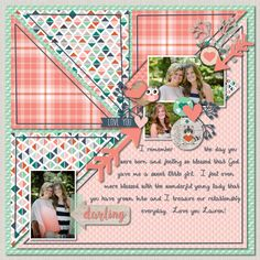 Digital Scrapbook Layouts using Woodland Whimsy | CREATIVE MEMORIES BLOG