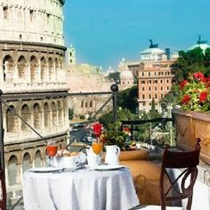 Breakfast with a view :) ---- from  OpenSky's Facebook page