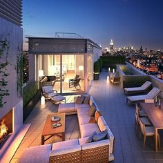 Follow @myluxurymag for the best homes & travel photos! @myluxurymag $28M Penthouse in New York City, USA
