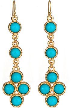 Lisa Stewart Palm Beach Dangle Earrings - $85.00
