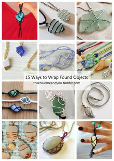15 Ways to Convert Found Objects into Jewelry from...