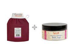 Moroccan Exfoliating Kessa Glove and Beldi Exfoliating Soap. Hammam Pack