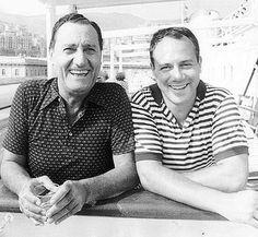 Alberto Sordi e Carlo Verdone
