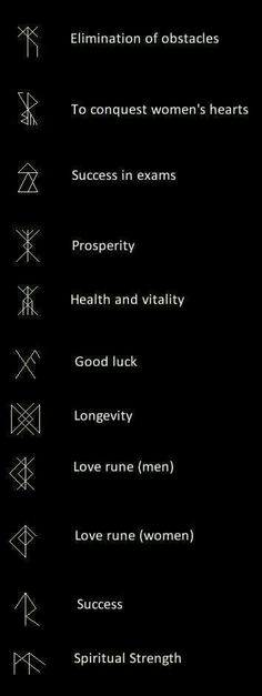 Norse runes combine