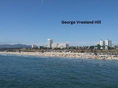 View from the Santa Monica Pier. Photo by, George Vreeland Hill Santa Monica, New York Skyline, California, Travel, Viajes, Traveling, Trips, Tourism