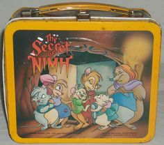 Secret of NIMH lunch box