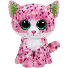 Amazon.com  Ty Sophie Pink Polka Dot Cat Boo Small - Stuffed Animal  (36189)  Toys   Games 7ea5348136e3