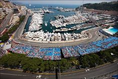 View across Monaco for the 2013 Formula 1 Grand Prix Montecarlo Monaco, Monaco Grand Prix, Harbor View, Aerial Photography, Formula One, Countries Of The World, Monte Carlo, Places To See, City Photo