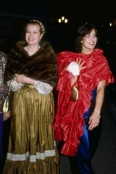 Grace and Caroline in 1981