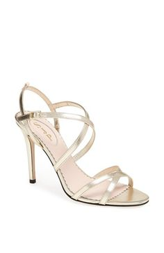 SJP 'Jill' Sandal (Nordstrom Exclusive) available at #Nordstrom Perfect for a wedding, a night out, or a great date :) #SWEEPSENTRY