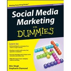 Social Media Marketing For Dummies (Paperback)  http://www.amazon.com/dp/111806514X/?tag=pininterests-20