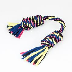 Monkey Fist Bar Rope Dog Toy