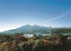 雄大な自然、眺望。絶景の磐梯山。