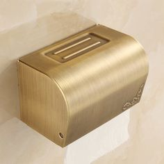 Surface-Mounted Covered Toilet Tissue Holder | Tissue holders ...