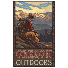 Oregon-outdoors-poster