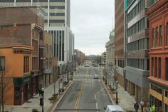 Downtown Fort Wayne Indiana