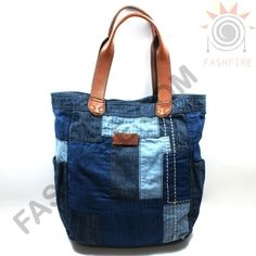 Another cool denim upcycled bag