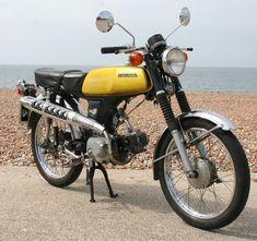 50 CC HONDA PC 50 1974 PAIR MIRRORS