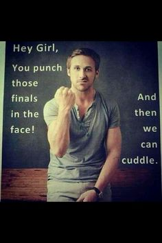 Exactly what I need to get me through the next three weeks