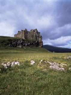 Duart Castle, Isle of Mull, Argyllshire, Inner Hebrides, Scotland, United Kingdom