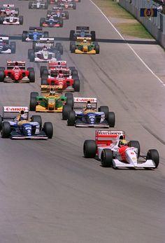 Adelaide 1993, last senna's win