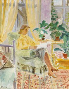 pintura de Isaac Grünewald (1889-1976)
